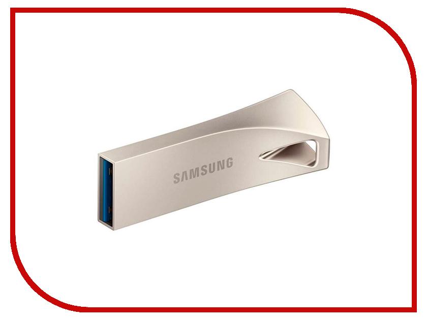 Купить USB Flash Drive 256Gb - Samsung Bar Plus Silver MUF-256BE3/APC