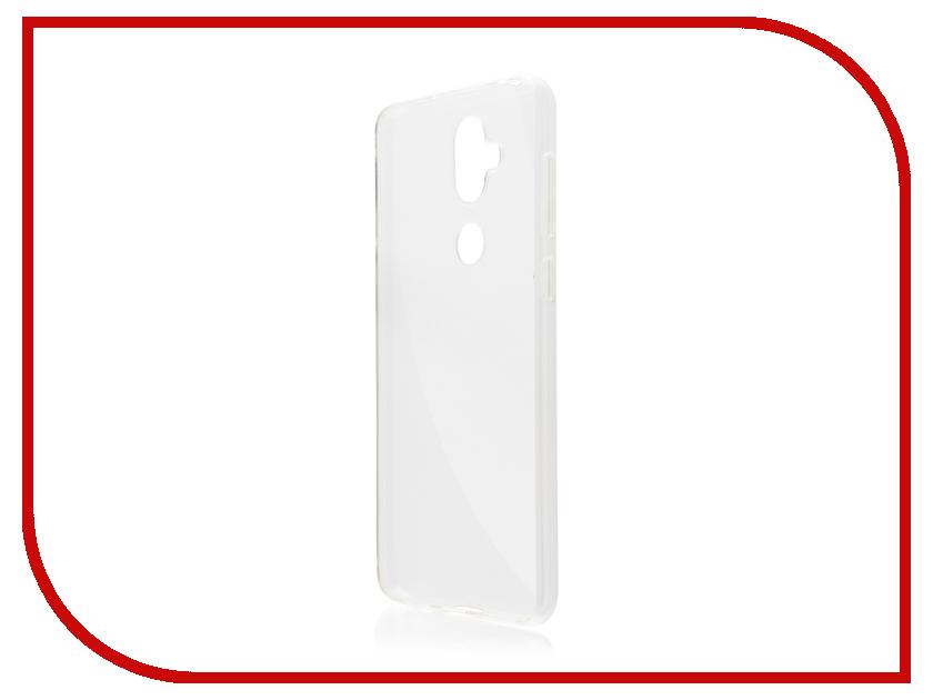 Купить Аксессуар Чехол для ASUS ZenFone 5 Lite ZC600KL Brosco Silicone Transparent AS-ZF5L-TPU-TRANSPARENT