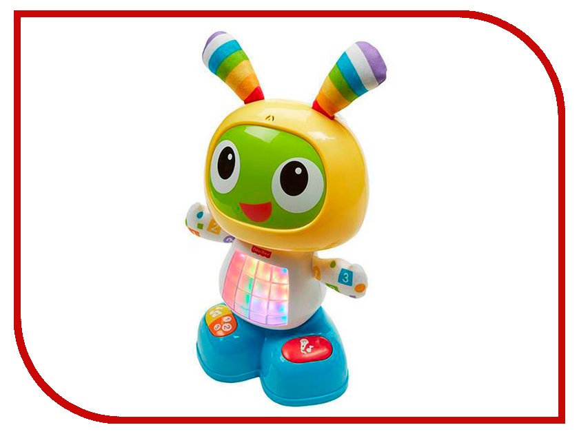 Купить Игрушка Fisher-Price Веселые ритмы. Обучающий робот Бибо (DJX26), Mattel