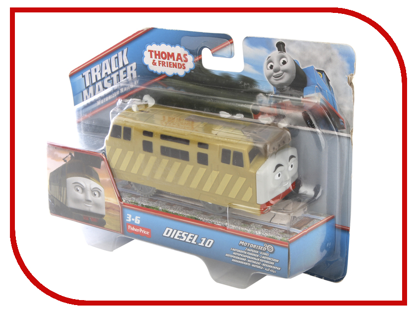 Купить Игрушка Mattel Fisher-Price Thomas And Friends CKW29