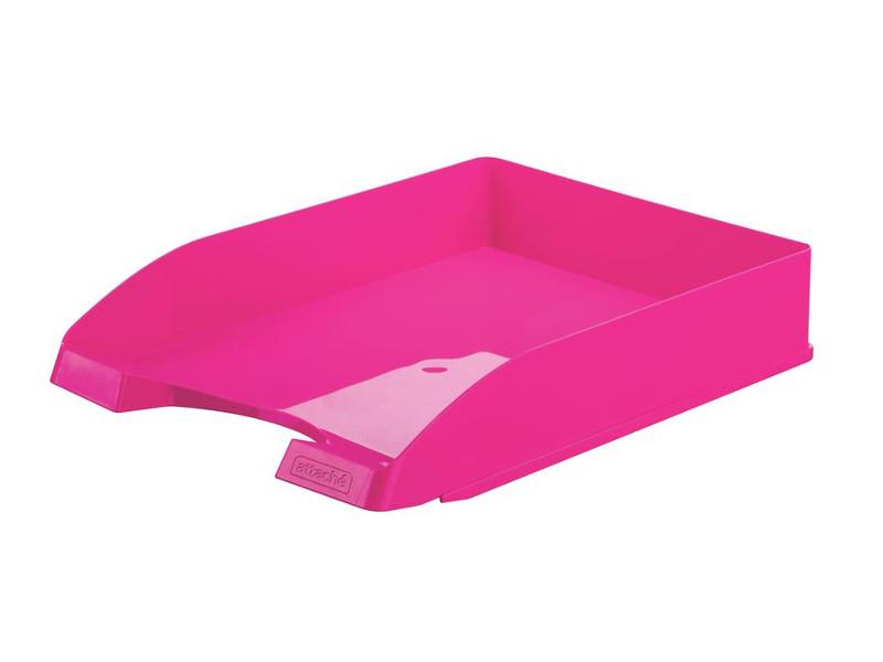 лоток горизонтальный berlingo steel & style silver bms 41031 Лоток горизонтальный Attache Fantasy Pink 490037