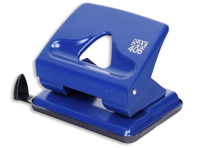 дырокол sax 306 до 20л с линейкой red 50974 Дырокол SAX 406 до 30л с линейкой Blue 50989