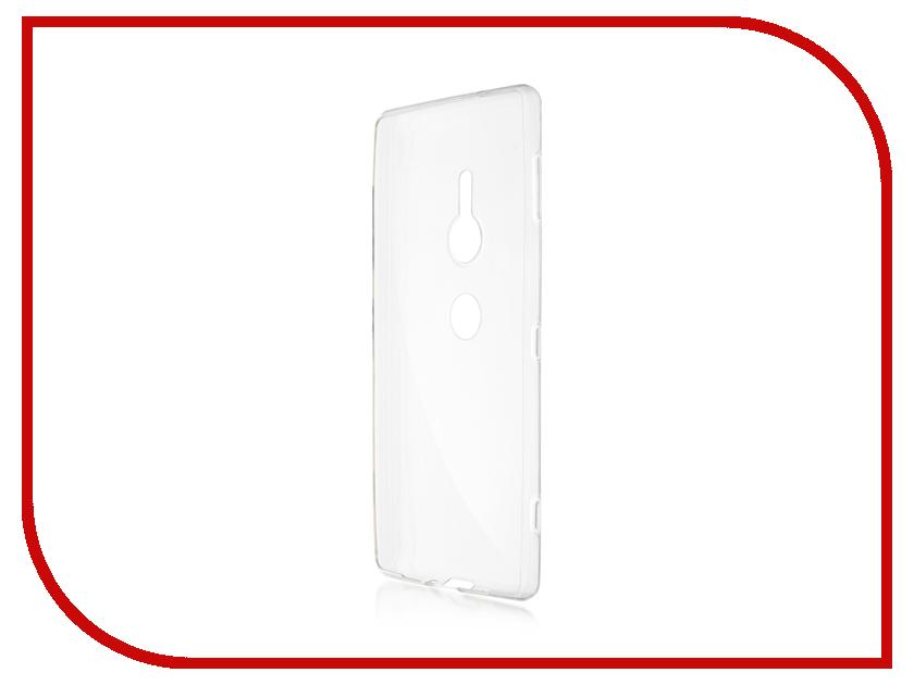 Купить Аксессуар Чехол Brosco для Sony Xperia XZ2 Transparent XZ2-TPU-TRANSPARENT