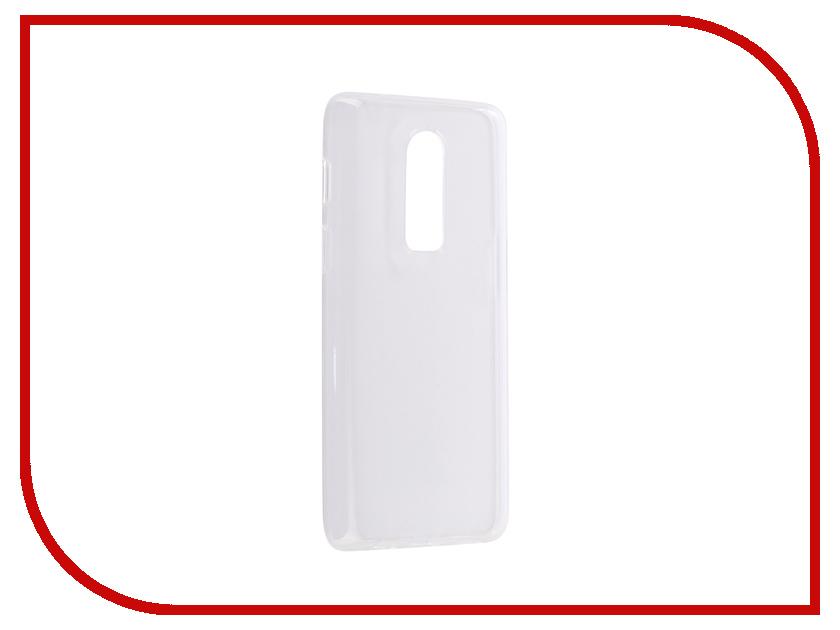 Купить Аксессуар Чехол для OnePlus 6 Brosco Silicone Transparent ONEPLUS-6-TPU-TRANSPARENT