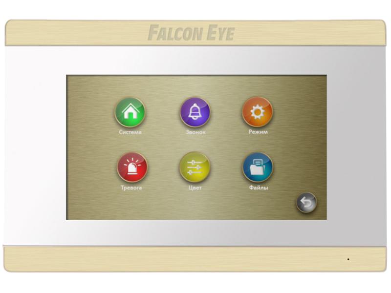 видеорегистратор falcon eye fe 5104mhd Видеодомофон Falcon Eye FE-70 ARIES White