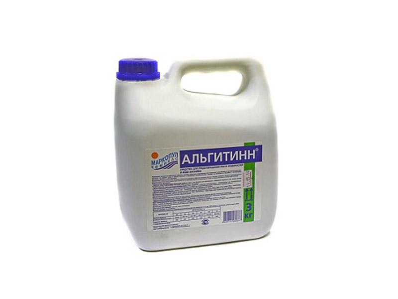 Купить Жидкость для борьбы с водорослями Маркопул-Кэмиклс Альгитинн 3л М06