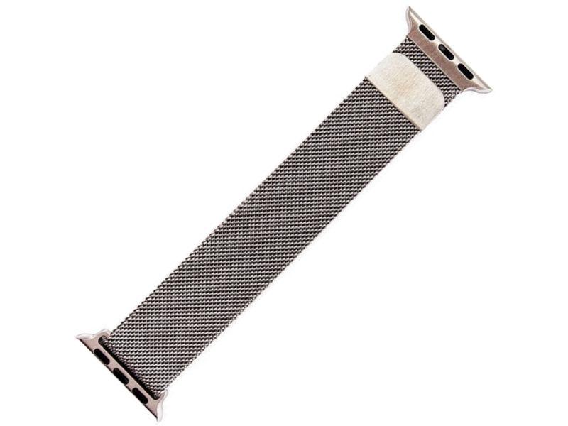 Аксессуар Ремешок Activ металлический сетчатый для APPLE Watch 38mm Silver 85305 аксессуар ремешок activ sport n для apple watch 38mm white black 85297