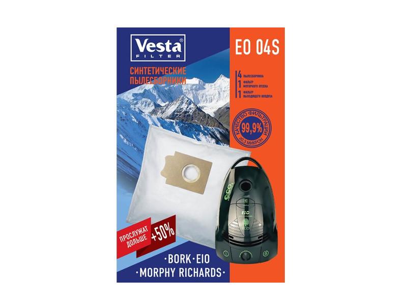 Мешки пылесборные Vesta Filter EO 04 S