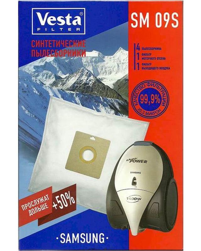 Мешки пылесборные Vesta Filter SM 09 S