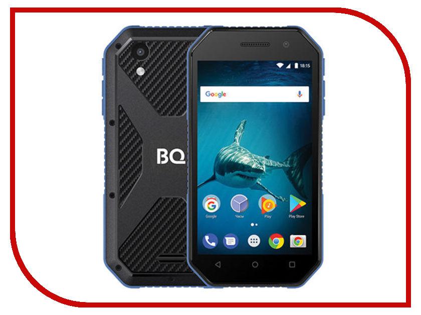 Купить Сотовый телефон BQ 4077 Shark Mini Black-Blue