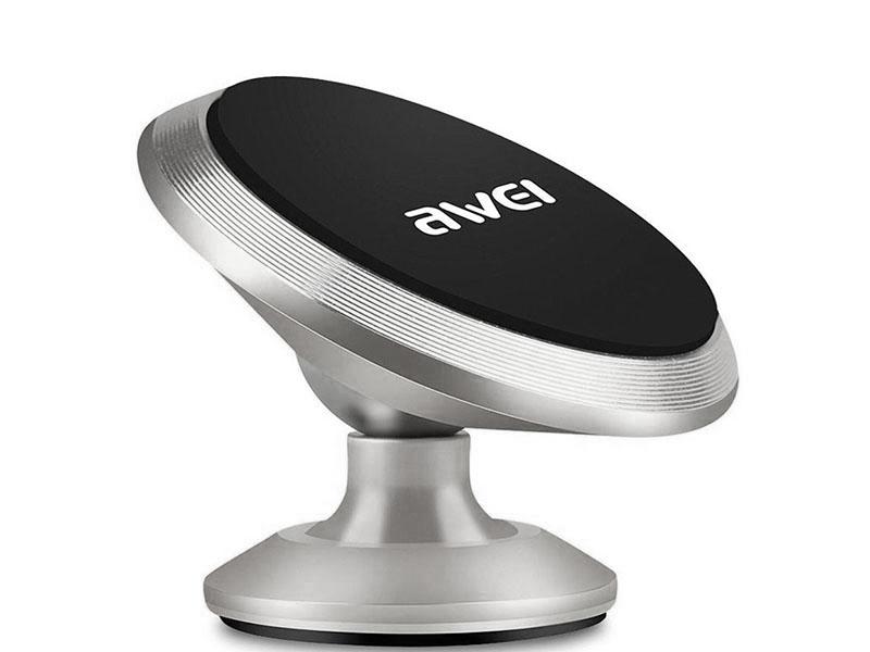держатель awei x6 gold Держатель Awei X6 Silver