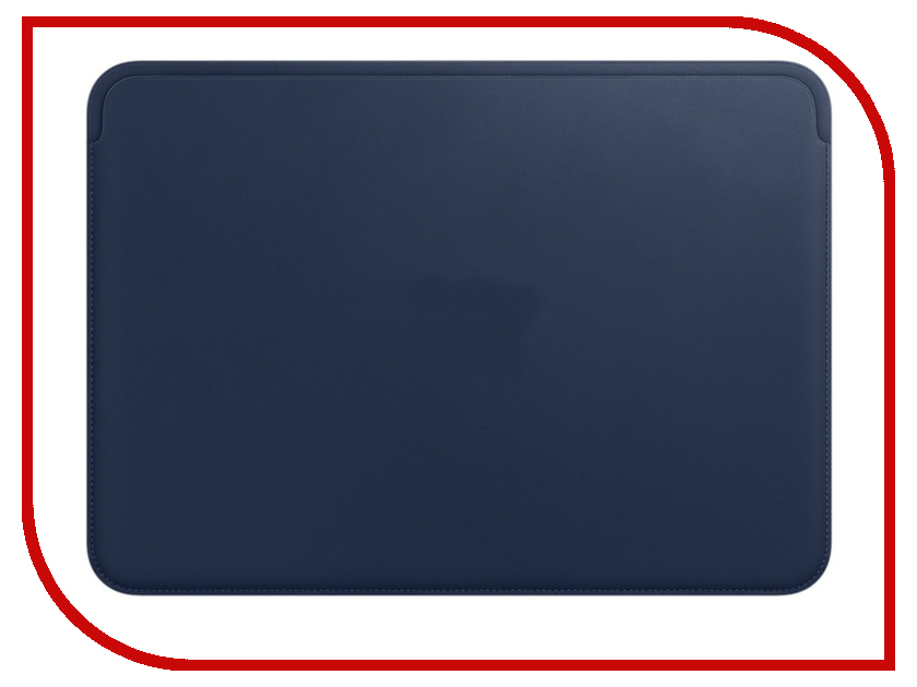 Купить Аксессуар Чехол APPLE Leather Sleeve для MacBook 12 Midnight Blue MQG02ZM/A