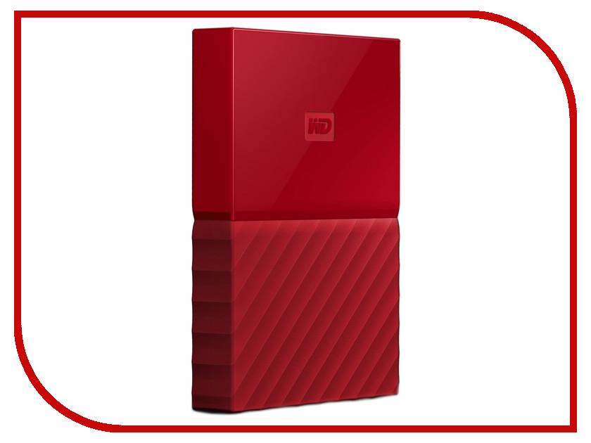Купить Жесткий диск Western Digital My Passport 2Tb Red WDBLHR0020BRD-EEUE