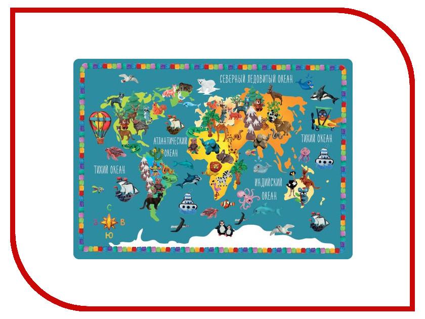Накладка на стол Silwerhof Животные мира 33x46cm 671624  - купить со скидкой