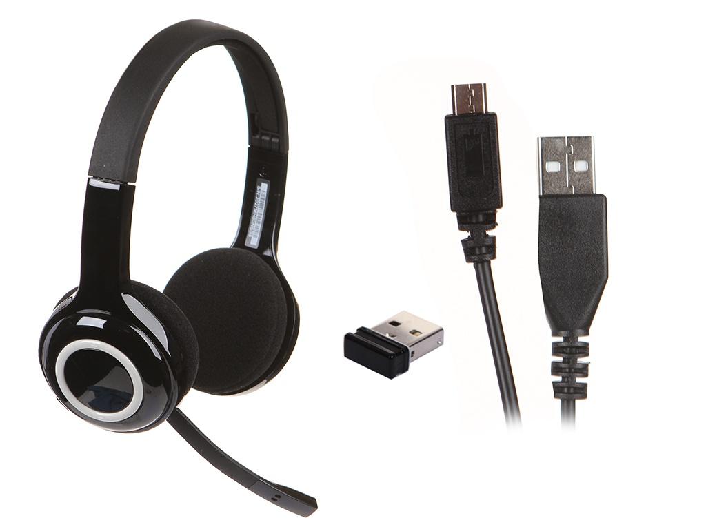 беспроводная гарнитура logitech wireless headset h600 981 000342 Наушники Logitech H600 981-000342