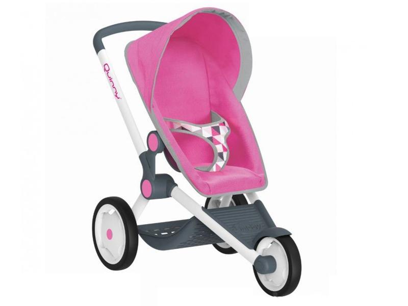 св 73 Коляска Smoby MC&Quinny Трехколесная коляска для кукол Pink 255097
