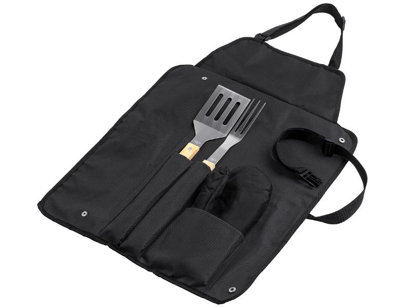 магнитный держатель для инструментов проект 111 idea fix black 7646 30 Фартук с набором для барбекю Проект 111 Grill Master Black 5773.30