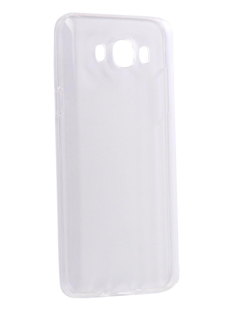 галакси j7 Аксессуар Чехол-накладка для Samsung Galaxy J7 2016 Innovation Silicone 0.33mm Transparent 12037