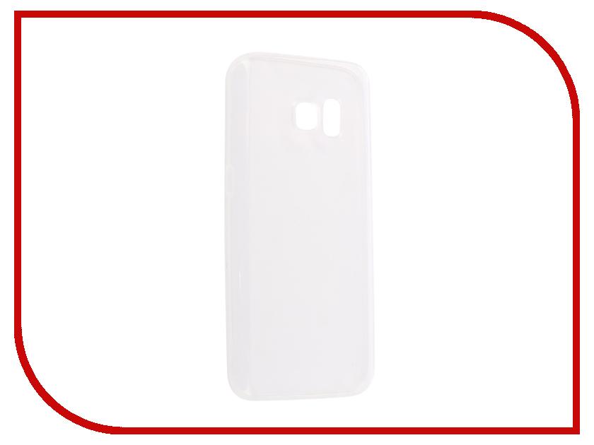 Купить Аксессуар Чехол Samsung Galaxy S7 SM-G930 Innovation Silicone 0.33mm Transparent 12041