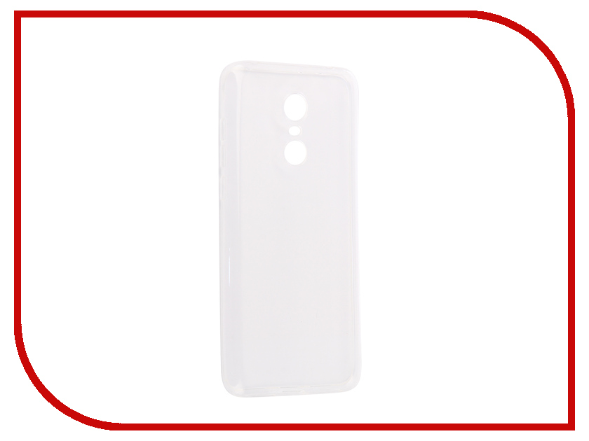 Купить Аксессуар Чехол для Xiaomi Redmi 5 Plus Innovation Silicone 0.3mm Transparent 12052
