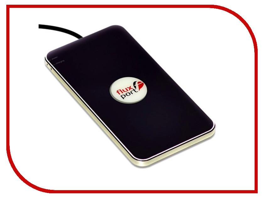Купить Зарядное устройство FluxPort Steel Black, Германия