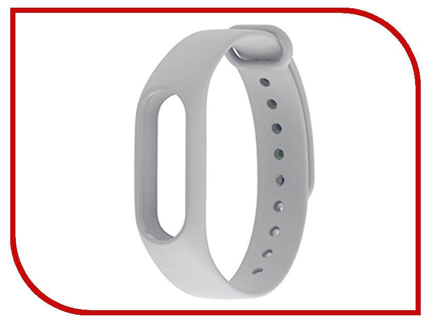Купить Aксессуар Ремешок Xiaomi Mi Band 2 Silicone Strap Light Gray, Band 2 Strap