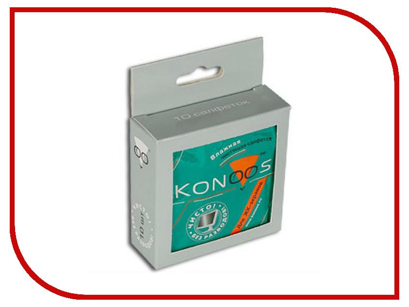 Купить Салфетки Konoos KTS-10 10шт для экранов