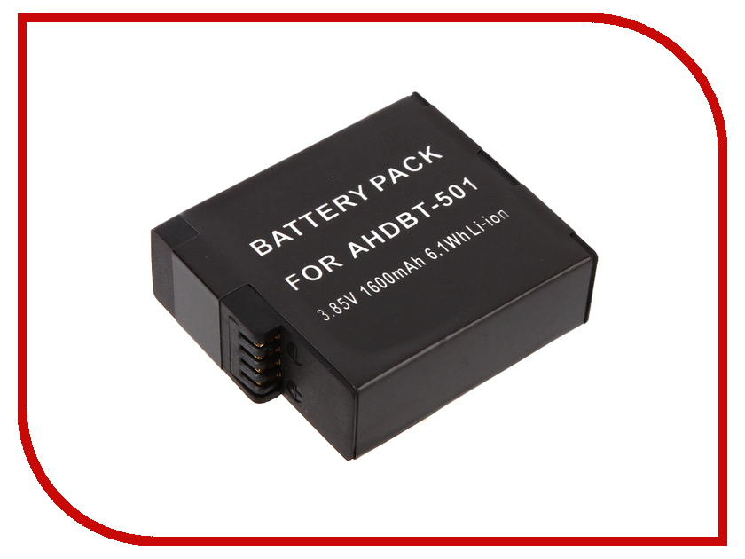 Купить Аксессуар Аккумулятор Lumiix для GoPro Hero 5 1600mAh GP403-1600