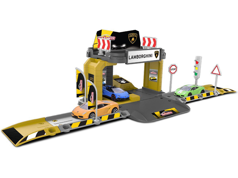 игрушка наша игрушка парковка дорожные работы p2029 Игрушка Majorette Парковка Creatix Lamborghini 2050003