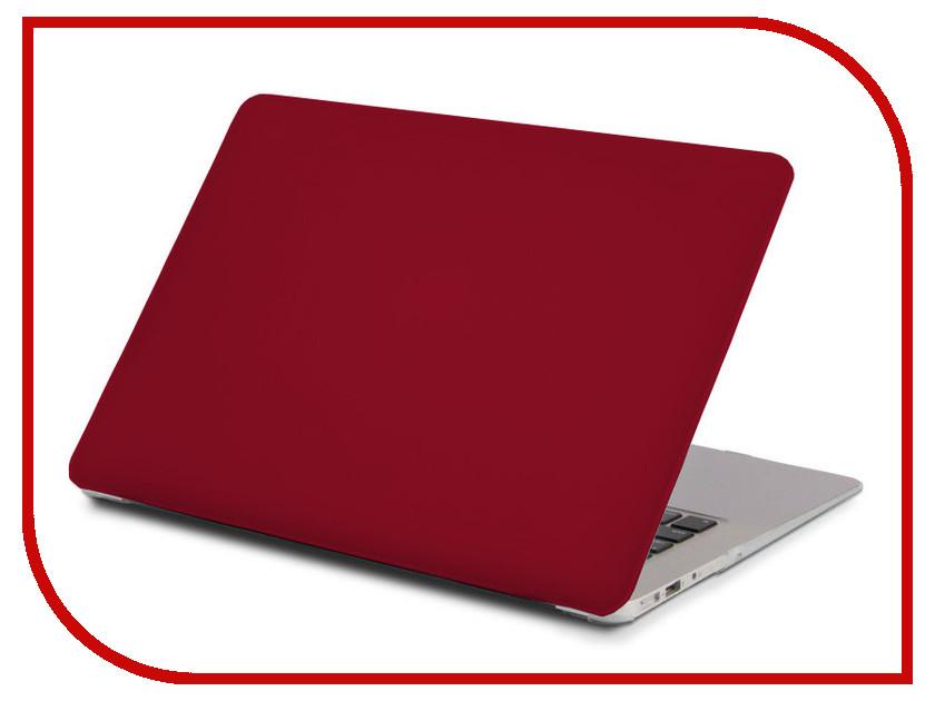 Аксессуар Чехол 13-inch Gurdini для APPLE MacBook Air 13 Plastic Matt OEM Bordo 900137  - купить со скидкой