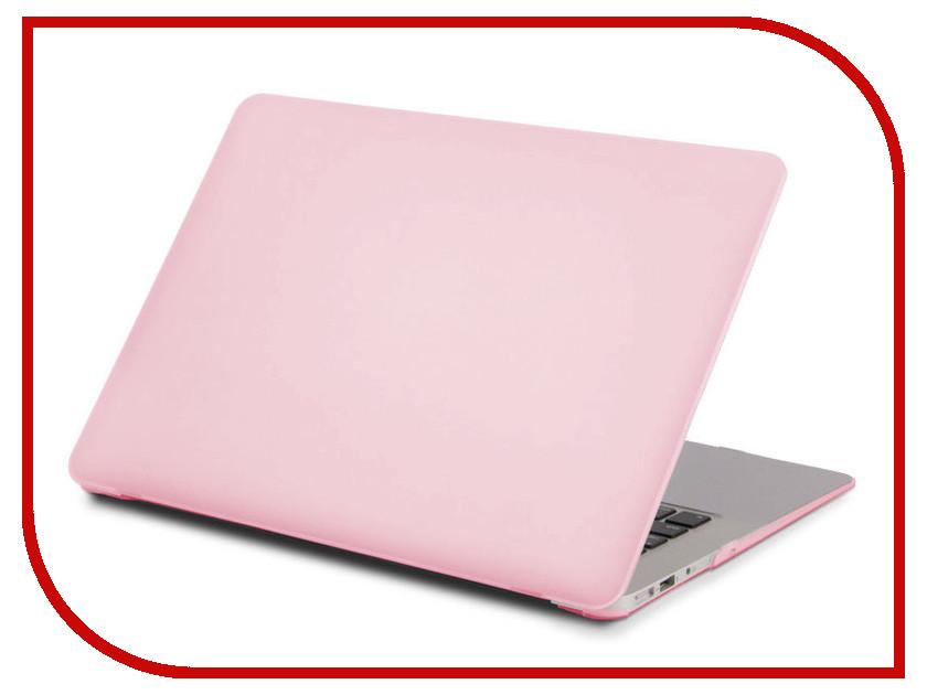 Купить Аксессуар Чехол 13-inch Gurdini для APPLE MacBook Pro Retina 13 2016 With TouchBar Plastic Pink 902458