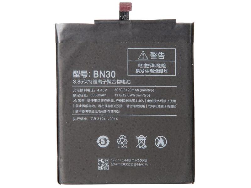 Аккумулятор RocknParts Zip для Xiaomi Redmi 4A 532541 дисплей rocknparts zip для xiaomi redmi note 4x black 573664