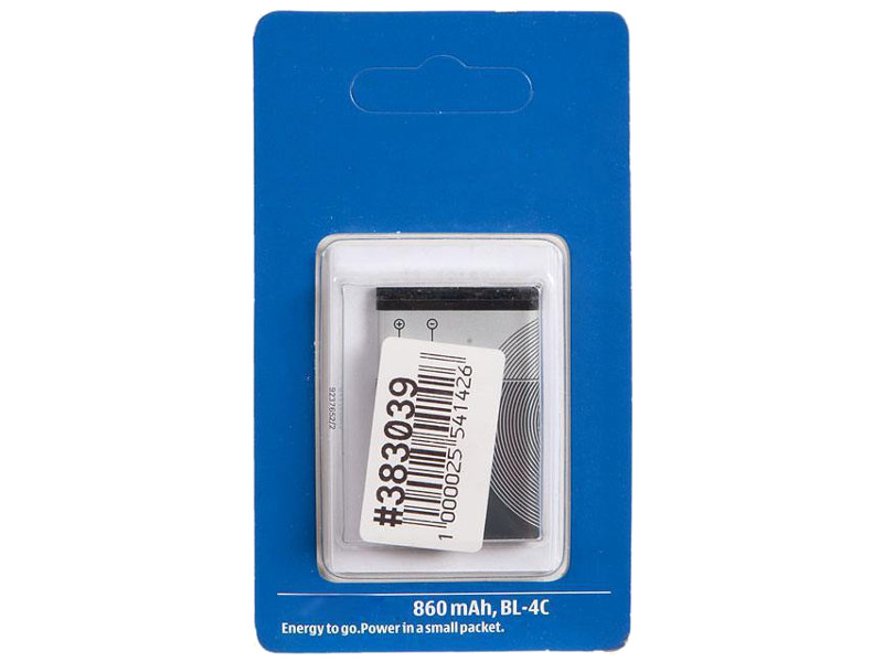 Аккумулятор RocknParts Zip для Nokia BL-4C 383039