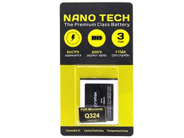 купить micromax a350 Аккумулятор Nano Tech 1500 mAh для Micromax Q324