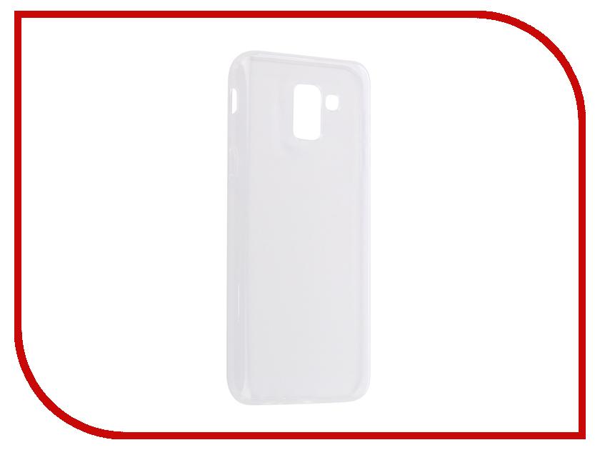 Купить Аксессуар Чехол для Samsung Galaxy J6 2018 Onext Silicone Transparent 70596