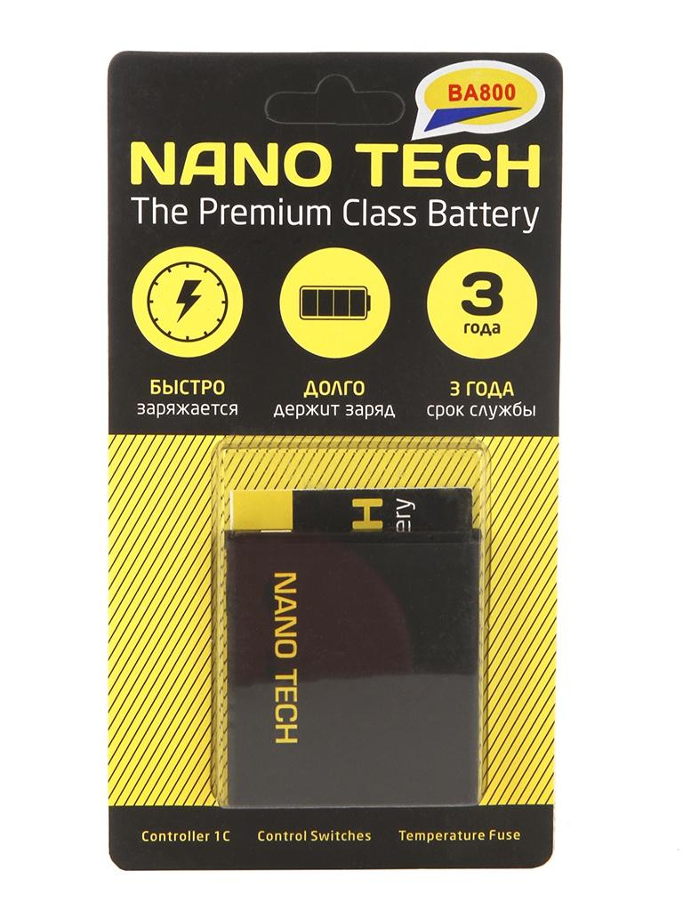 купить аккумулятор для sony xperia t3 Аккумулятор Nano Tech (схожий с BA-800) 1700mAh для Sony Xperia S/Xperia V/Arc HD/Xperia Arc S