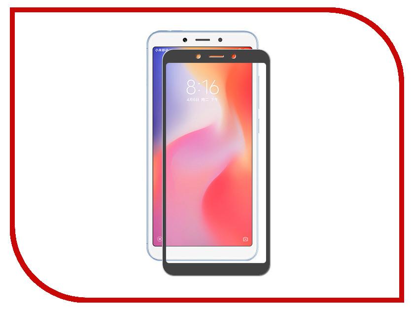 Купить Аксессуар Закаленное стекло для Xiaomi Redmi 6A / Redmi 6 DF Full Screen xiColor-34 Black, DF-GROUP