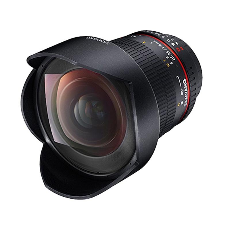 фотоаппарат canon eos 77d kit ef s 18 135 mm f 3 5 5 6 is usm Объектив Samyang AF 14mm f/2.8 Canon EF