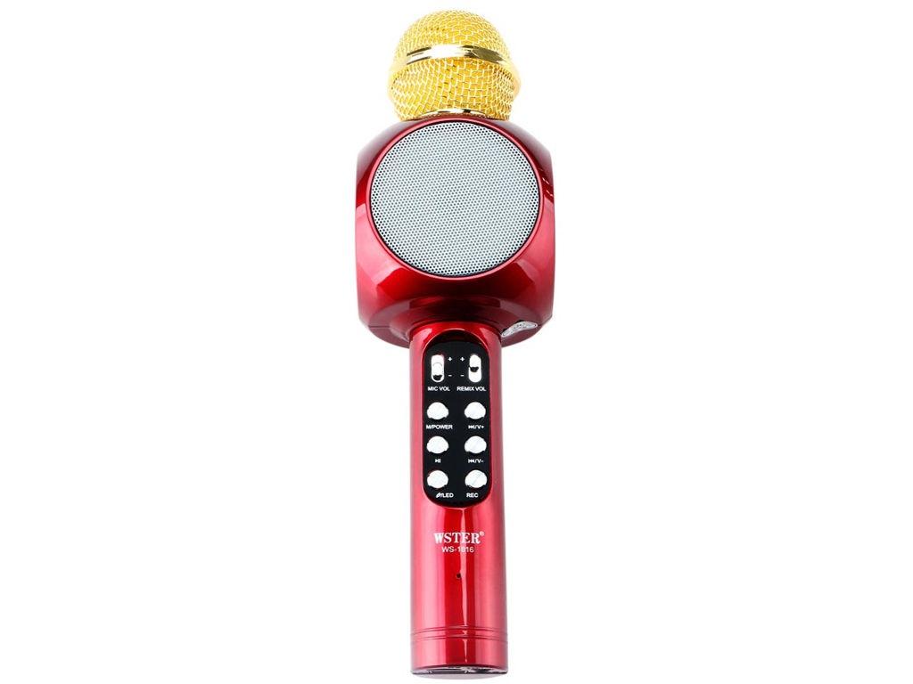 Караоке WS-1816R Караоке Handheld KTV WS-1816R Red