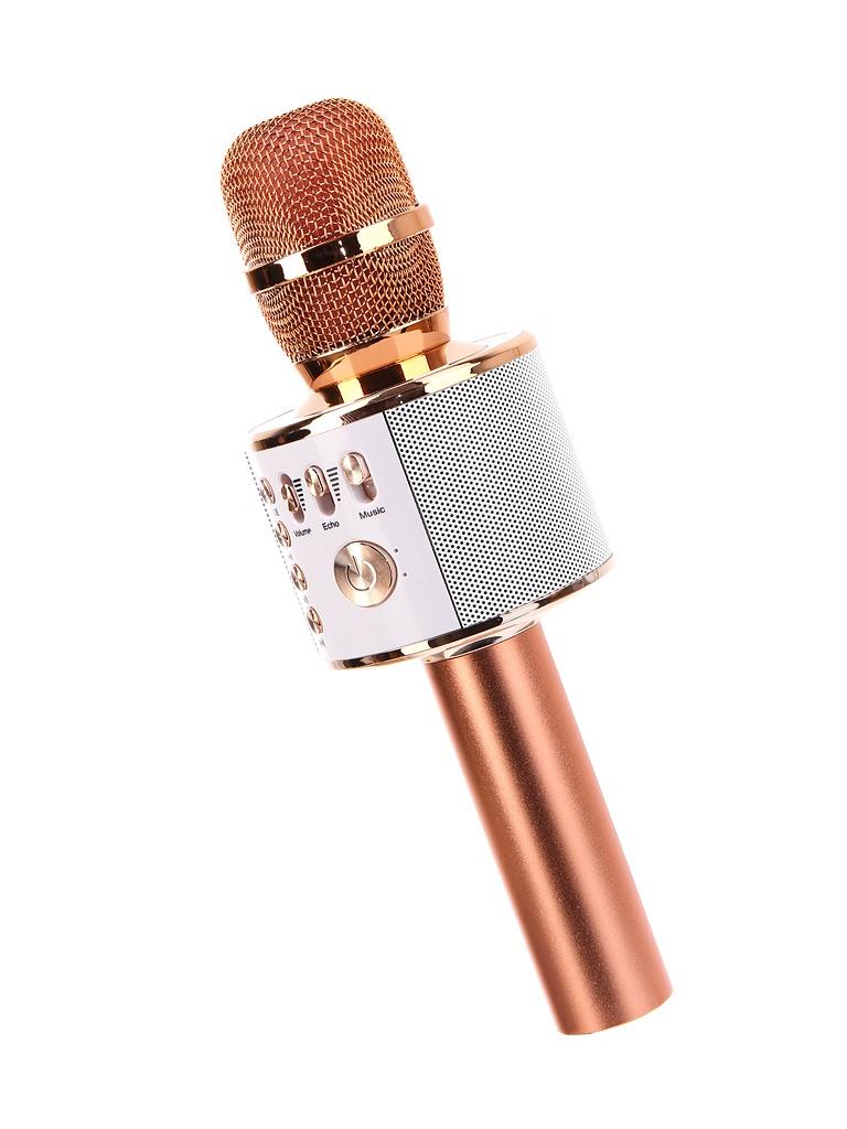 Караоке KTV-Q37RG Караоке Handheld KTV Q37RG Pink-Gold