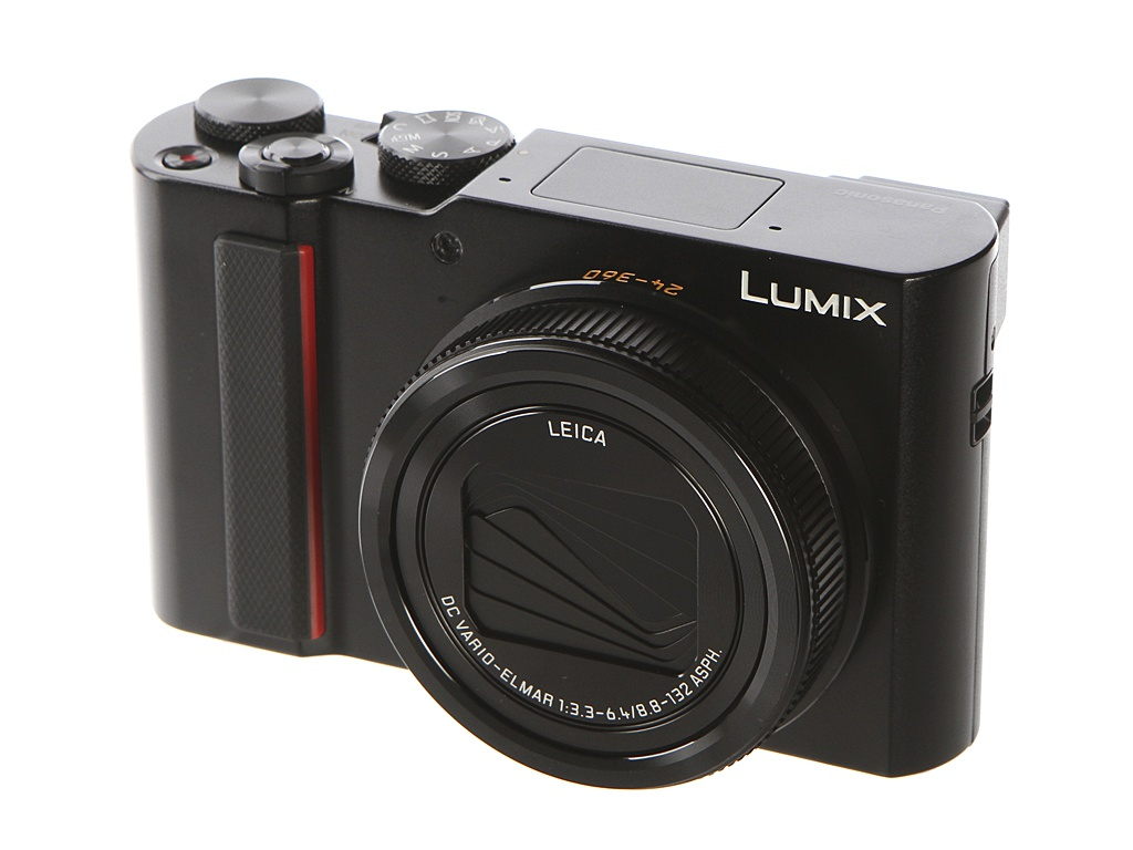 фотоаппарат panasonic lumix dc gx9 kit 14 42mm f 3 5 5 6 ii silver Фотоаппарат Panasonic Lumix DC-ZS200/TZ200 Black