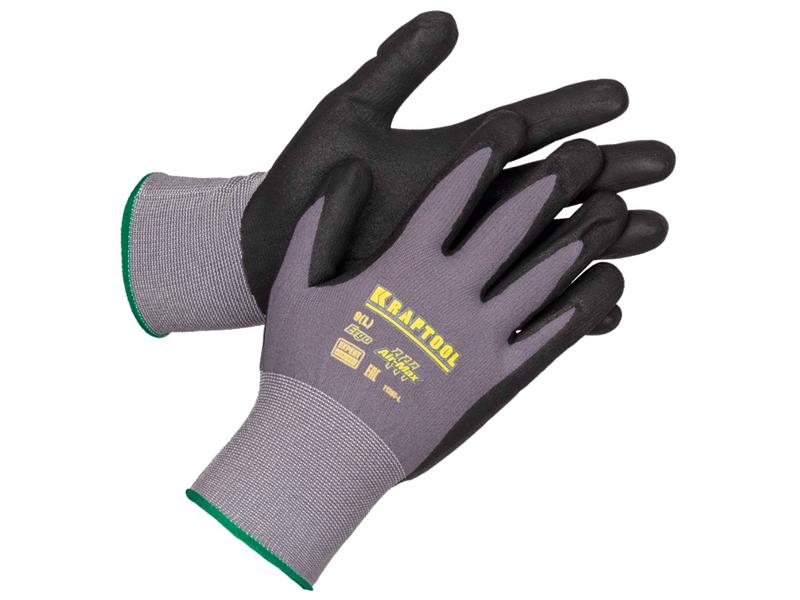 очки защитные kraftool expert 11009 55627 Перчатки Kraftool Expert р.M 11285-M