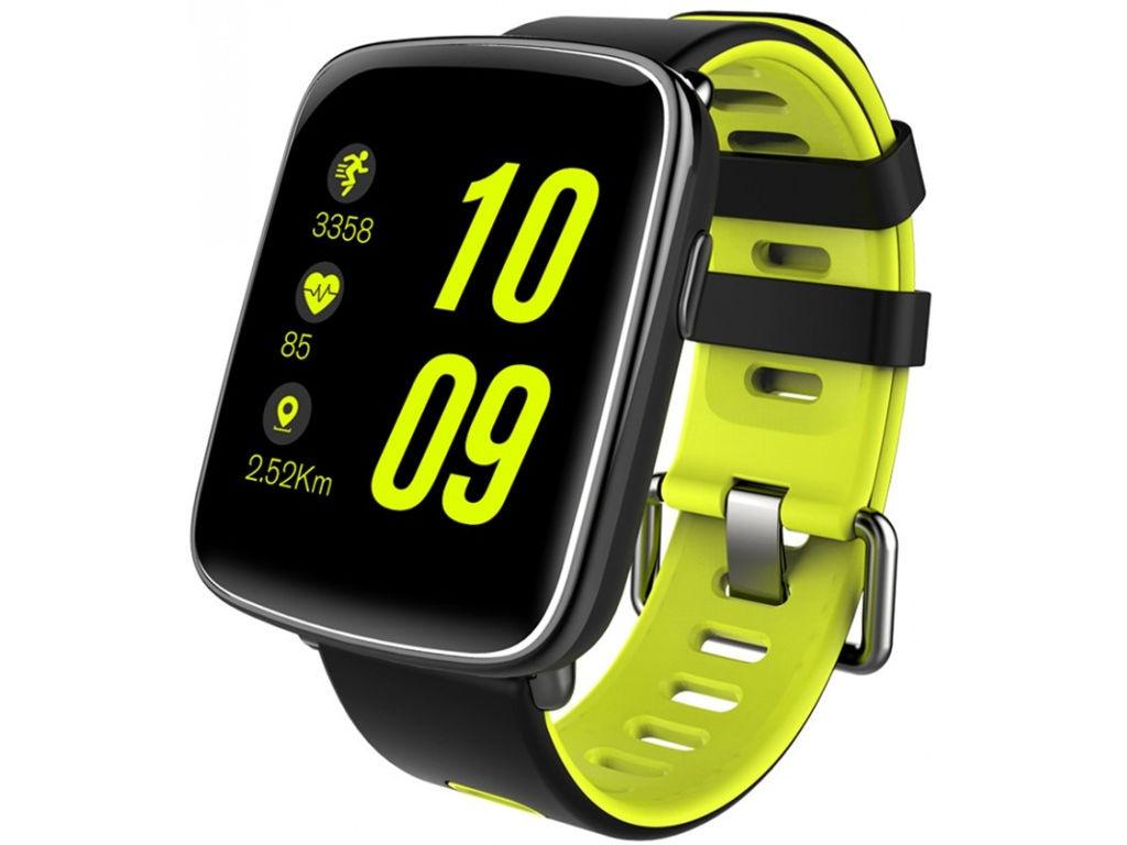 умные часы kingwear kw98 black Умные часы KingWear GV68 Yellow