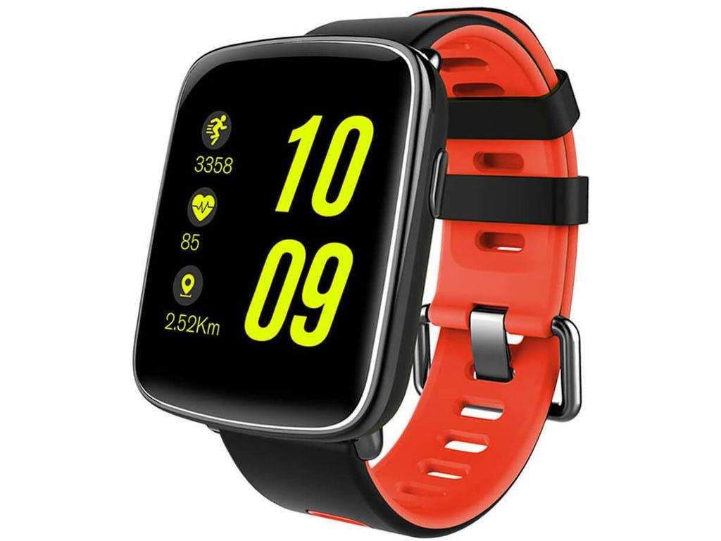 умные часы kingwear kw98 black Умные часы KingWear GV68 Red