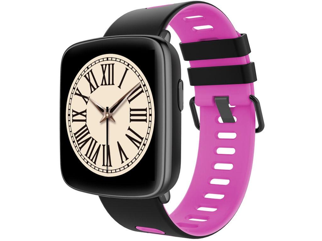 умные часы kingwear kw18 silver Умные часы KingWear GV68 Pink
