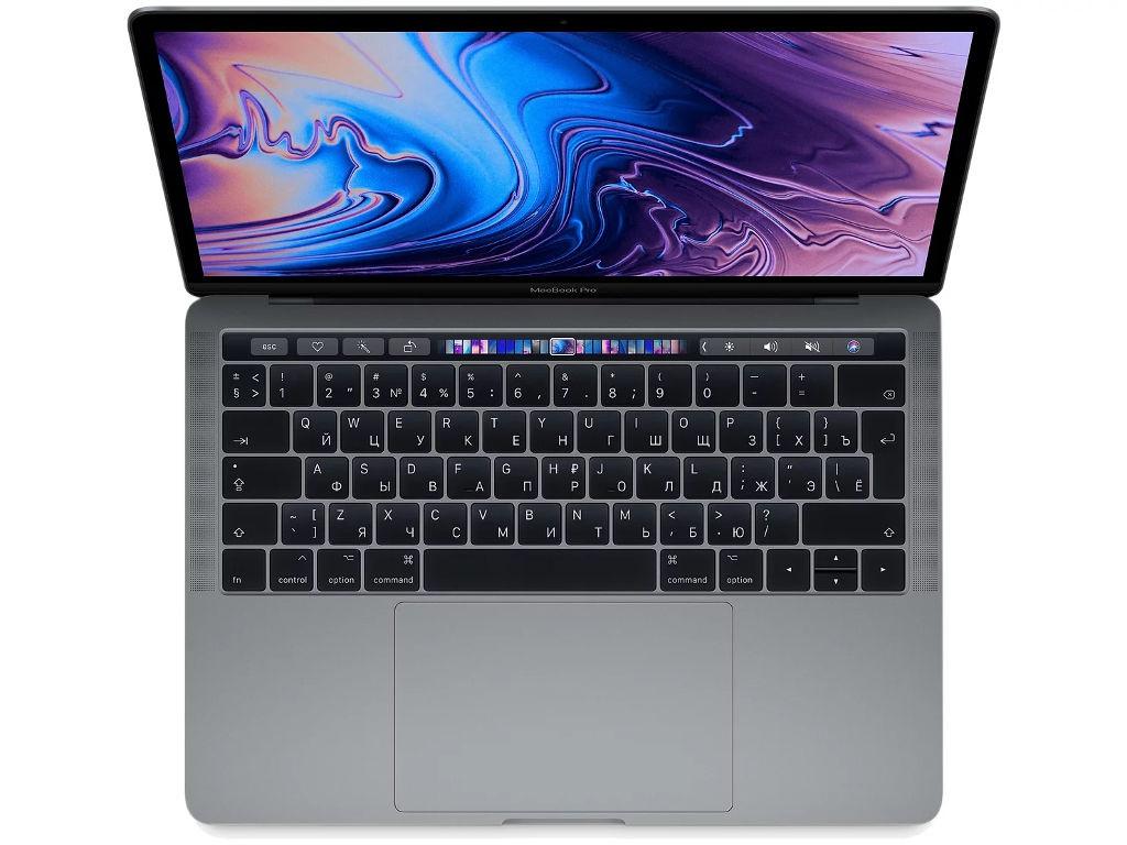 Купить Ноутбук APPLE MacBook Pro 13 MR9Q2RU/A Space Grey (Intel Core i5 2.3 GHz/8192Mb/256Gb SSD/Intel HD Graphics 655/Wi-Fi/Cam/13/Mac OS)