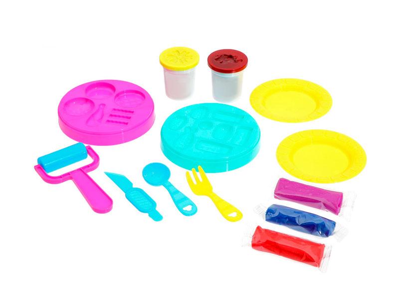 пластишка тесто для лепки Набор для лепки Эврики Набор для игры с пластилином Мастер бургер 3017101