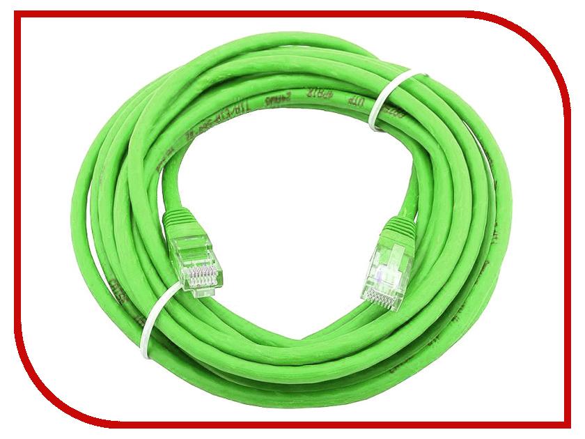 Купить Сетевой кабель AOpen UTP cat.5e ANP511 20m Green ANP511_20M_G