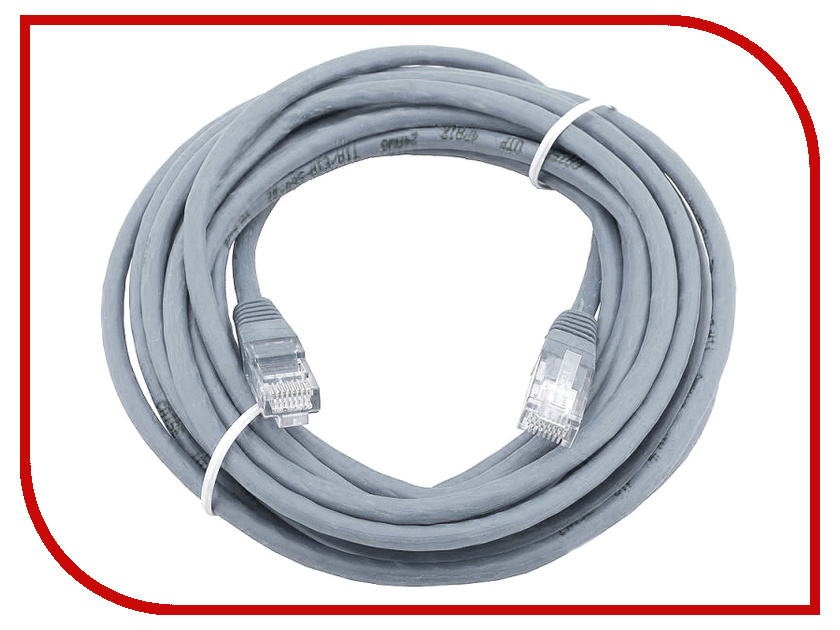 Купить Сетевой кабель AOpen UTP cat.5e ANP511 20m Grey ANP511_20M