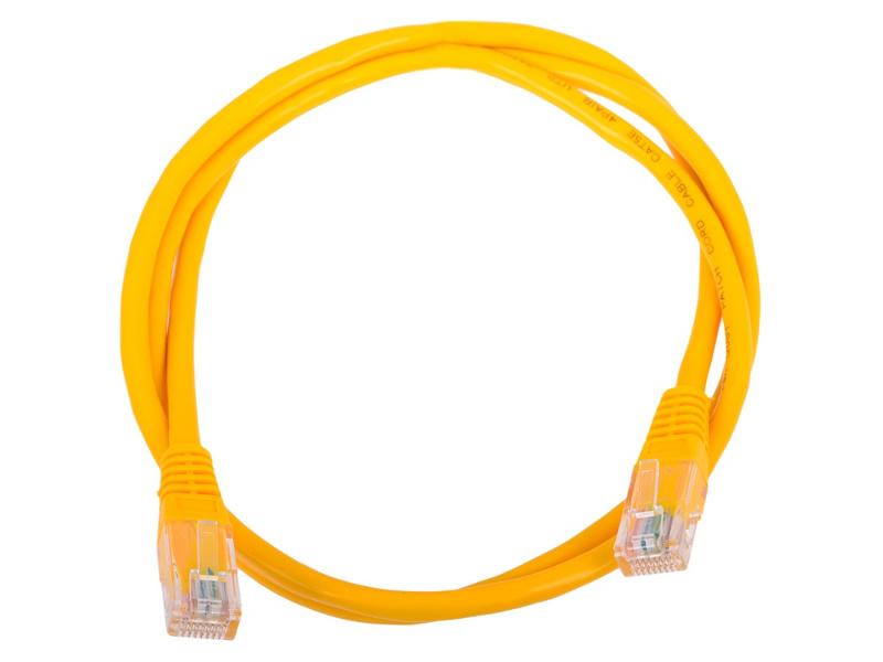 Купить Сетевой кабель AOpen UTP cat.5e ANP511 1m Yellow ANP511_1M_Y